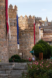 Ávila, walled city Royalty Free Stock Photos