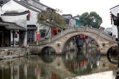 Vila Xitang da água Fotos de Stock Royalty Free