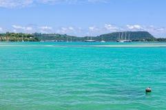 Vila zatoka - Port Vila Obraz Stock
