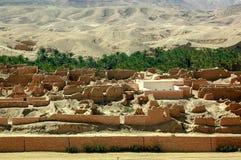 Vilage abandonado en África Foto de archivo libre de regalías