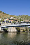 Vilage de région de Pinhão - de Douro Photos libres de droits
