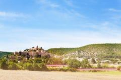 Vilage di Banon in Alpes-de-Haute-Provence Francia Fotografia Stock