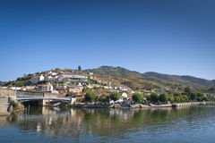 Vilage of Pinhão - Douro region Royalty Free Stock Images