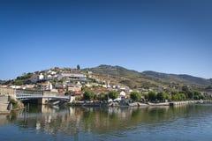 Vilage of Pinhão - Douro region Royalty Free Stock Images