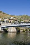 Vilage van gebied Pinhão - Douro Royalty-vrije Stock Foto's