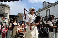 Vilalba- Spain. Vilalba , SPAIN- 9 JULY , 2011 -   Medieval Festival  VILALBA.  Province of  Lugo.  Galiza . SPAIN Stock Photos