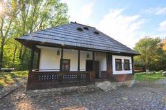 Vilalge house from Bucovina, Romania Stock Photography