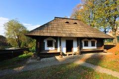 Vilalge house from Bucovina, Romania Stock Images