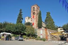 Vilamagore Medievale-Catalogna 2018 immagini stock libere da diritti
