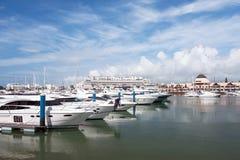 Vilamora marina, Portugal Stock Images
