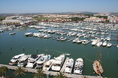 Vilamoura Marina Stock Photography