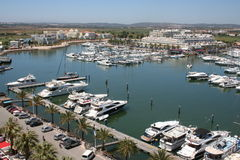 Vilamoura Marina Stock Photos