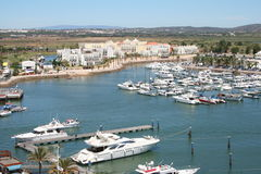 Vilamoura Marina Royalty Free Stock Photo