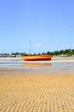 Vilanculos海滩,莫桑比克 图库摄影