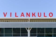 Vilankulo Airport, Mozambique Stock Photos