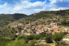 Vilanova de Prades, in Spain Royalty Free Stock Images