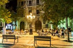 Plaza de la Vila Stock Image
