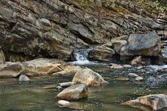 Vilasha rzeka z pięknymi brzeg obraz stock