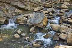 Vilasha rzeka z pięknymi brzeg obraz royalty free