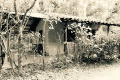 Vilcabamba Ecuador, No home is abandoned; just empty for whoever wants it. Stock Images