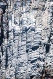 Vilcanic kołysa w Nea Kameni, lokalizować w Santorini kalderze Zdjęcia Royalty Free
