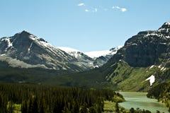 Vildmark av Montana - glaciärnationalpark Royaltyfri Bild