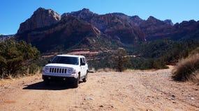 Vildmark av Rocky Mountain i Arizona, USA Arkivbilder