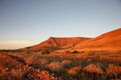 Vildmark i Namibia Arkivfoton