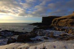 Vildmarken av Faroeen Island Arkivbilder