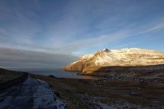 Vildmarken av Faroeen Island Royaltyfri Fotografi
