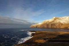 Vildmarken av Faroeen Island Royaltyfria Bilder