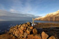 Vildmarken av Faroeen Island Royaltyfria Foton