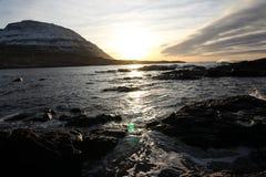 Vildmarken av Faroeen Island Arkivfoto