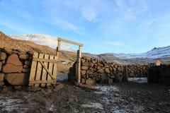 Vildmarken av Faroeen Island Royaltyfri Bild