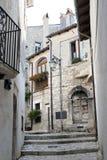 Viletta巴雷亚中世纪小村庄,天鹰座,意大利 库存照片