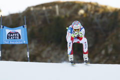 VILETTA Sandro en FIS Ski World Cup alpino - el SUPER-G de los 3ro HOMBRES fotos de archivo libres de regalías