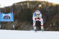 VILETTA Sandro i FIS alpina Ski World Cup - 3rd MÄNS SUPER-G Royaltyfria Foton