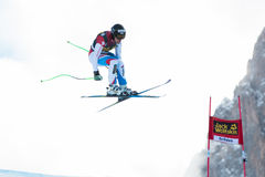 VILETTA Sandro (SUI). VAL GARDENA, ITALY - DECEMBER 21: VILETTA Sandro (SUI)races down the Saslong competing in the Audi FIS Alpine Skiing World Cup MEN'S Stock Images