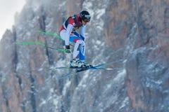VILETTA Sandro (SUI). VAL GARDENA, ITALY - DECEMBER 21: VILETTA Sandro (SUI)races down the Saslong competing in the Audi FIS Alpine Skiing World Cup MEN'S Stock Photos