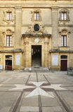 Vilhena Palace in Mdina Malta stock photo