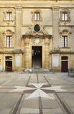 Vilhena Palace in Mdina  Malta Stock Photo