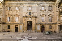 The Vilhena Palace at Mdina on Malta. stock photography