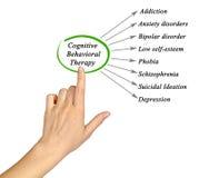 Vilken kognitiva beteende- terapi behandlar royaltyfria foton