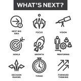 Vilken nästa symbolsuppsättning för ` s Fotografering för Bildbyråer