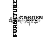 Vilket trädgårds- möblemang bör mig köper ordmolnet stock illustrationer