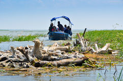 VILKOVO, UKRAINE - May 19: Danube delta. Royalty Free Stock Images