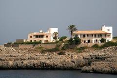 Villa à cala marsal Image libre de droits