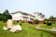 Villa. Outdoor villa, in China Jiangxi Stock Images
