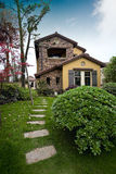 Villa. This is a beautiful villa Royalty Free Stock Photography