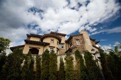 Villa. This is a beautiful villa Stock Photos